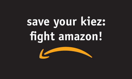 Save your Kiez – Fight Amazon!
